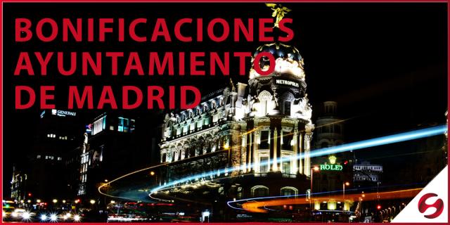 COVID-19 L:BONIFICACIONES DEL AYUNTAMIENTODE MADRID EN EL IAE Y EN EL IBI