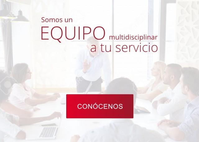 Somos un equipo multidisciplinar a tu servicio